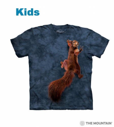 Peace Squirrel - Kids Animal T-shirt - The Mountain®